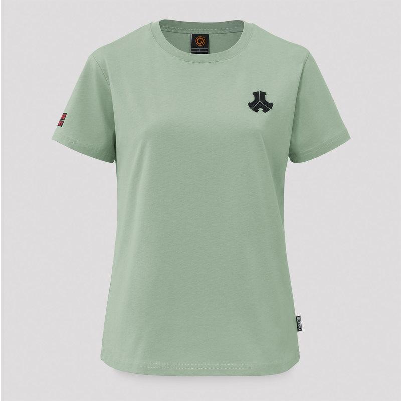 Defqon.1 boyfriend t-shirt mint green/black