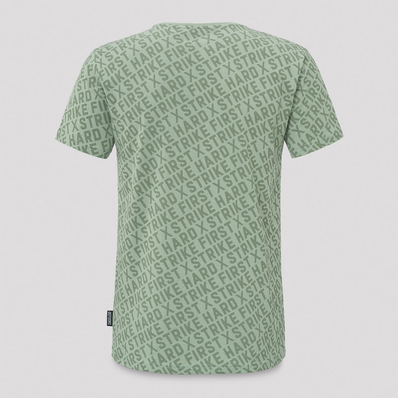 Defqon.1 t-shirt mint green/red