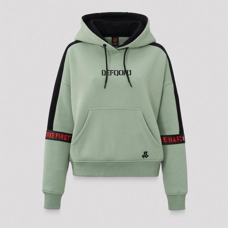 Defqon.1 boyfriend hoodie mint green/black