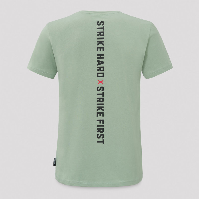 Defqon.1 t-shirt mint green/black