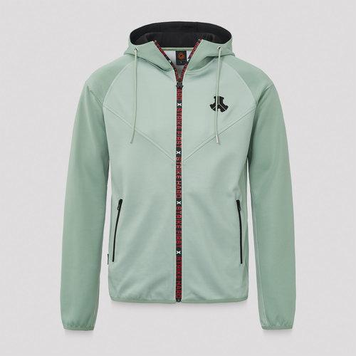 Defqon.1 hooded zip mint green/black