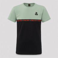 Defqon.1 t-shirt black/mint green