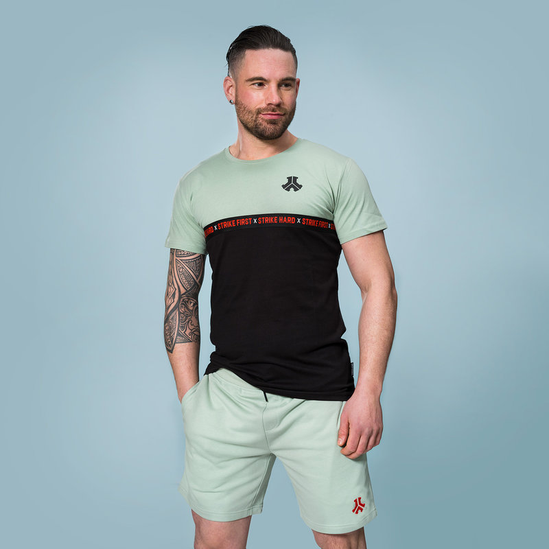 Defqon.1 t-shirt black/mint green