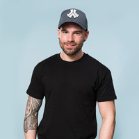 Defqon.1 baseball cap grey/mesh