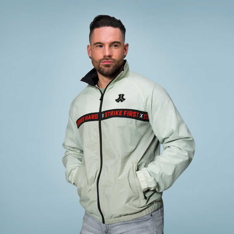 Defqon.1 windjacket mint green/black