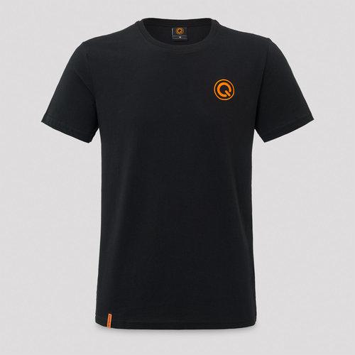 Q-Dance t-shirt black/orange