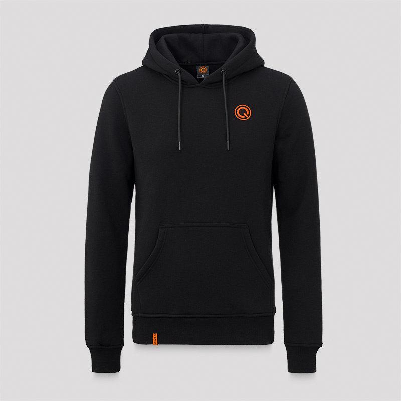 Q-dance hoodie black/orange