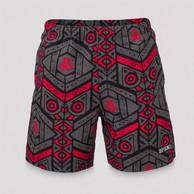 Defqon.1 swim short grey/pattern
