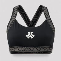 Defqon.1 sport bra black/grey