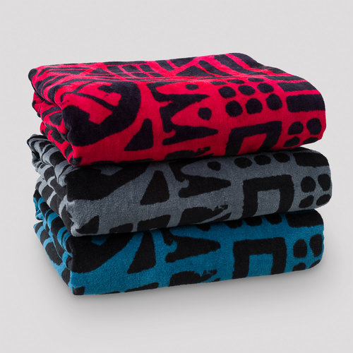 Defqon.1 towel 3-pack red/blue/black