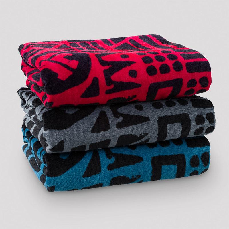 Defqon.1 towel 3-pack red/blue/black