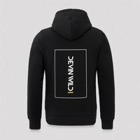 Devin Wild hoodie black/white