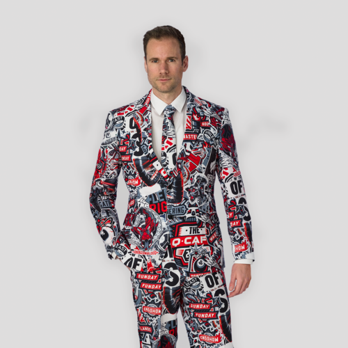 Defqon.1 X OppoSuits sticker bomb suit