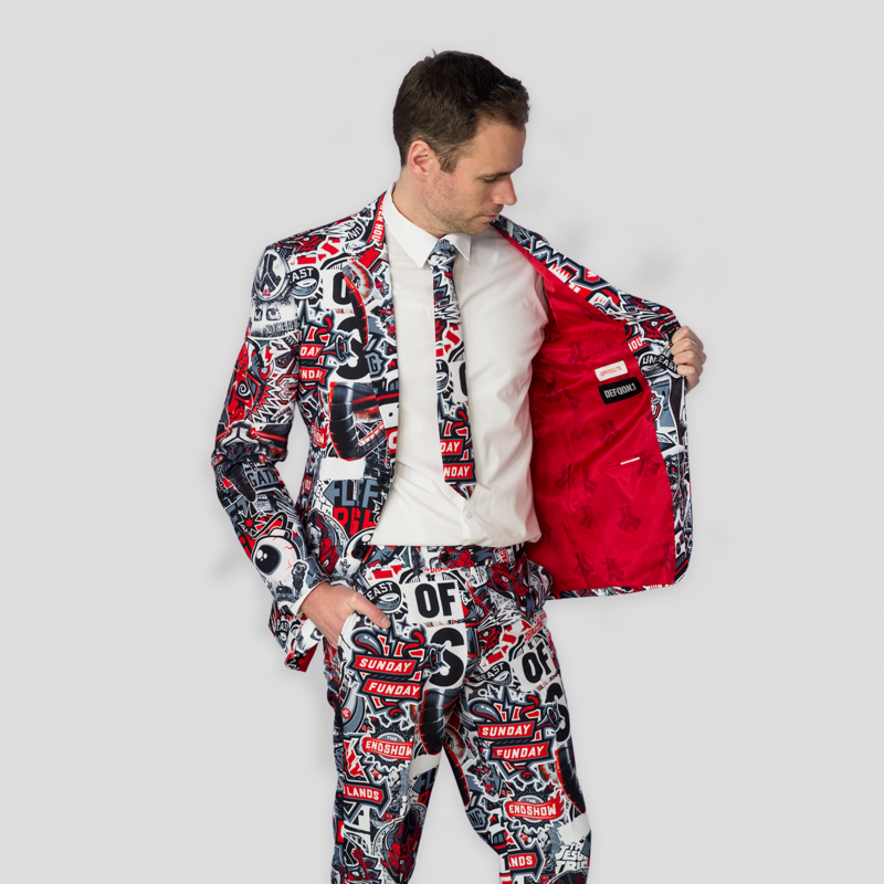 Defqon.1 X OppoSuits sticker bomb suit