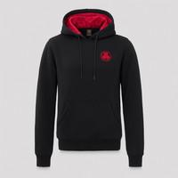 Defqon.1 hoodie black/red