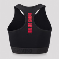 Defqon.1 sport bra black/red