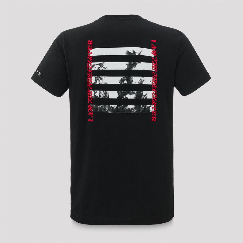 Ran-D t-shirt black/white