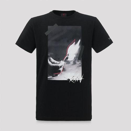 Ran-D t-shirt black/grey