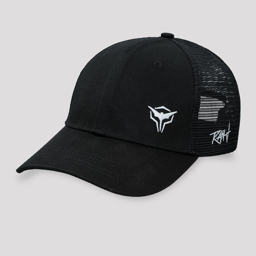 Ran-D trucker cap black/white