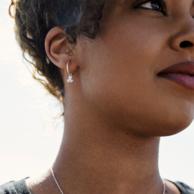 Defqon.1 earrings silver