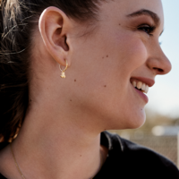 Defqon.1 earrings gold