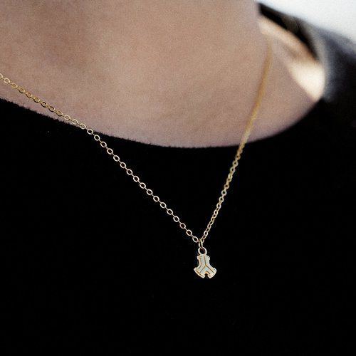 Defqon.1 necklace gold