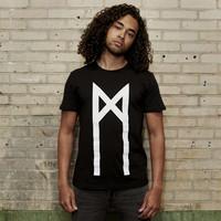 MYST Trinity t-shirt black/white