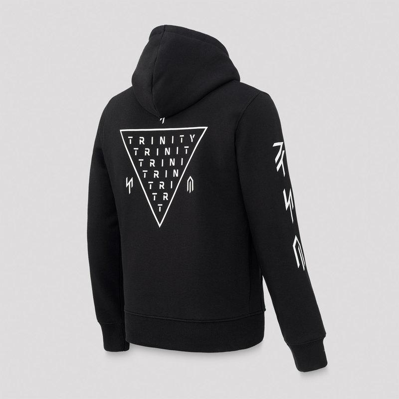 MYST Trinity hoodie black/white