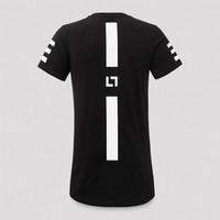 Keltek t-shirt black/white