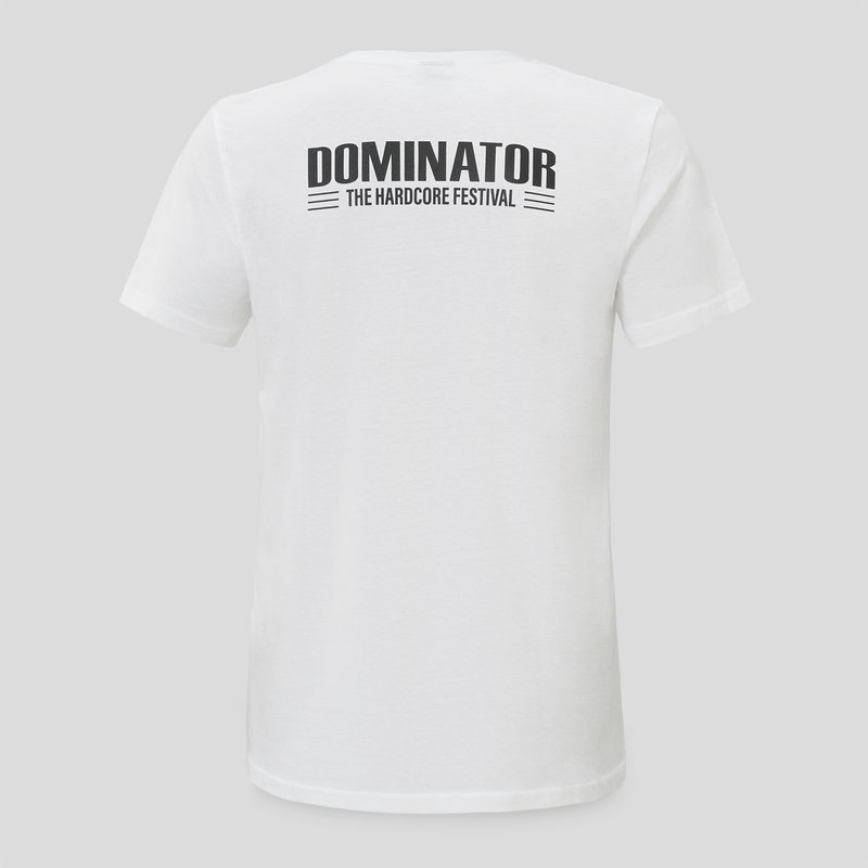 Dominator T-Shirt white/black