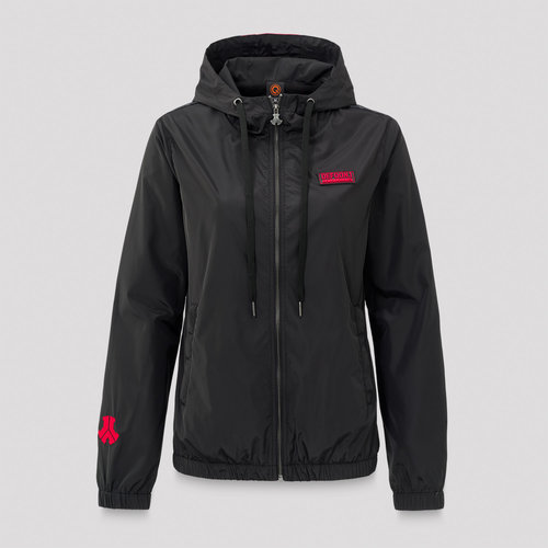 Defqon.1 wind jacket black/red