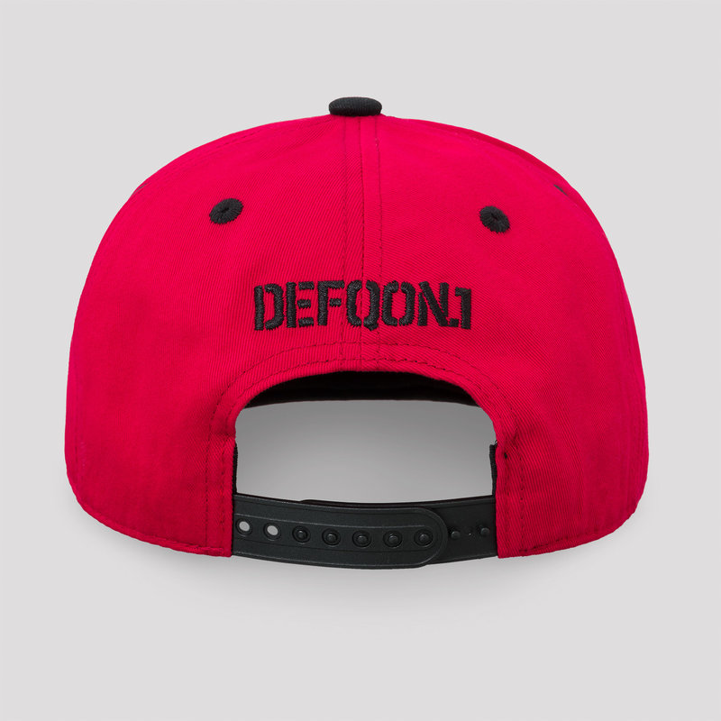 Defqon.1 snapback red/black