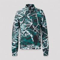 Defqon.1 track jacket green/pattern