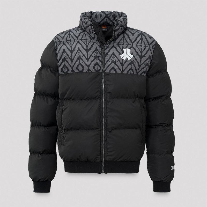 Defqon.1 winter jacket black/grey