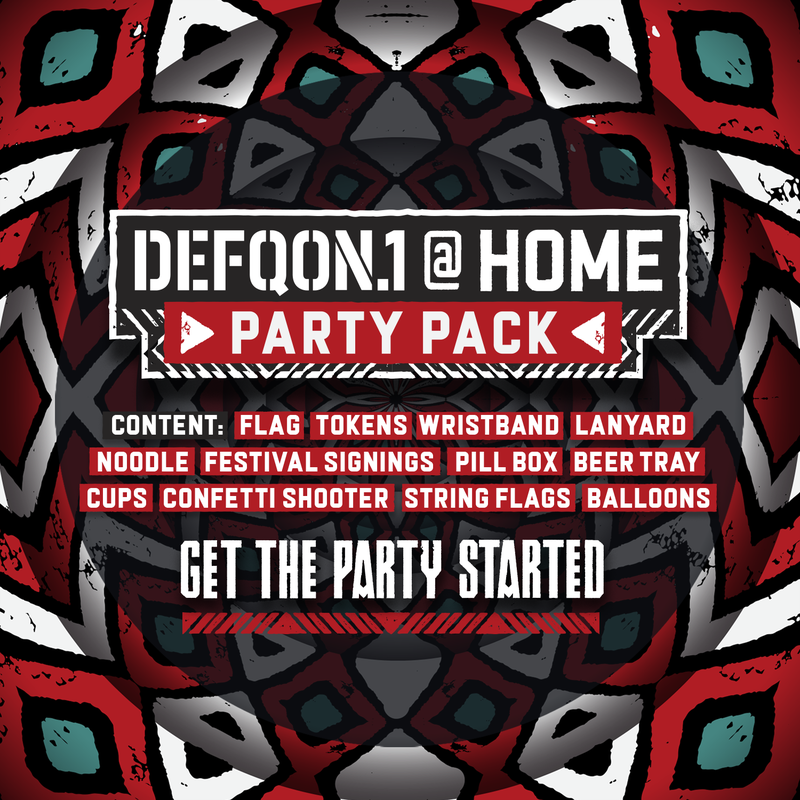 Defqon.1 at Home – Party Package