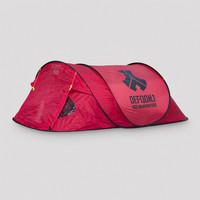 Defqon.1 tent red/black