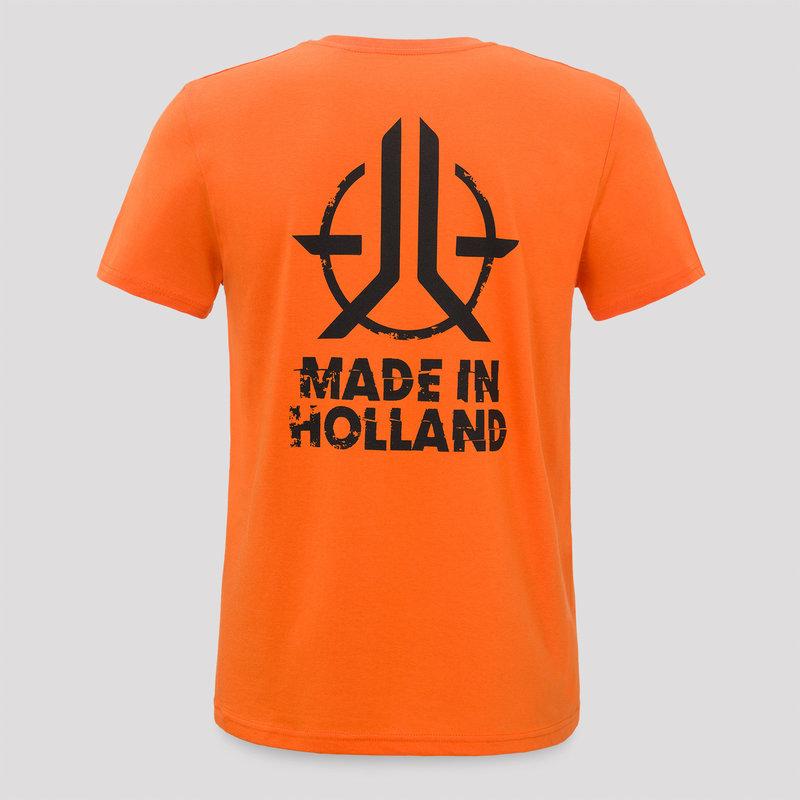 Roughstate t-shirt orange/black