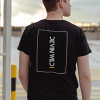 Devin Wild t-shirt black/white