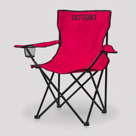 Defqon.1 folding chair red/black