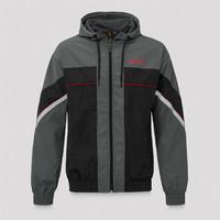 Defqon.1 wind jacket grey/black