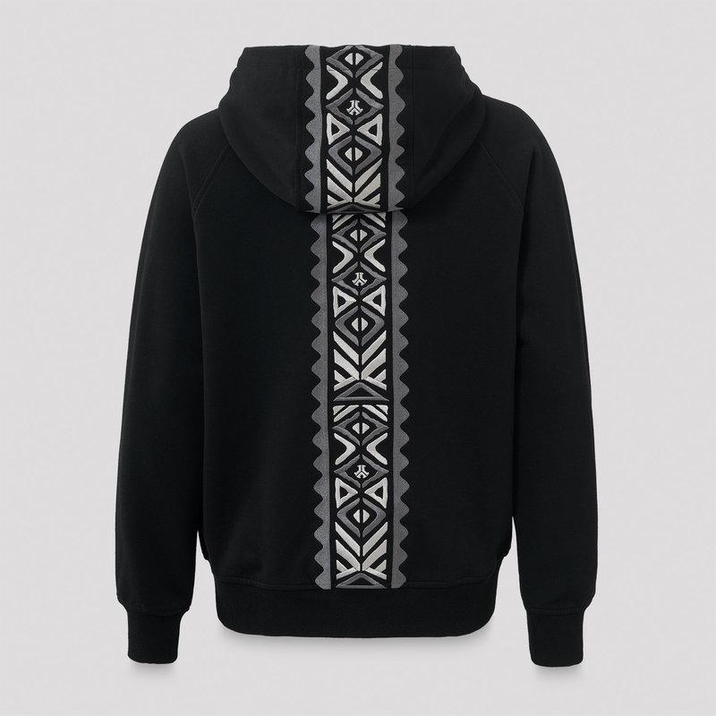 Defqon.1 boyfriend hooded zip black