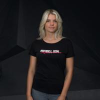 Rebelion t-shirt black/red