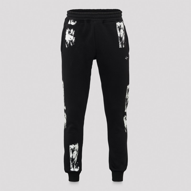 Frequencerz jogging pants black/white