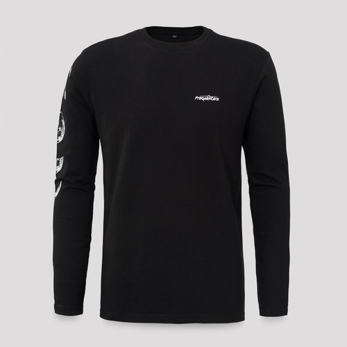 Frequencerz longsleeve black/white