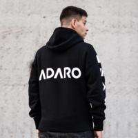 Adaro hoodie black/white