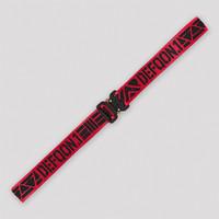 Defqon.1 belt red/black