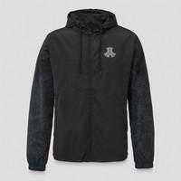 Defqon.1 wind jacket black/blue