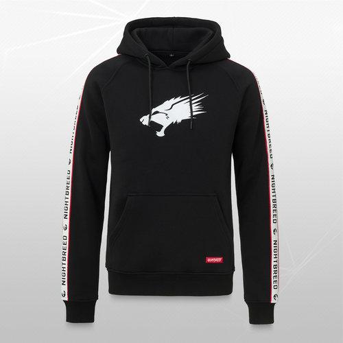 Nightbreed hoodie black/white