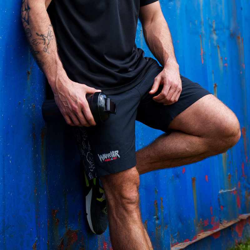 Defqon.1 Warrior Workout short black
