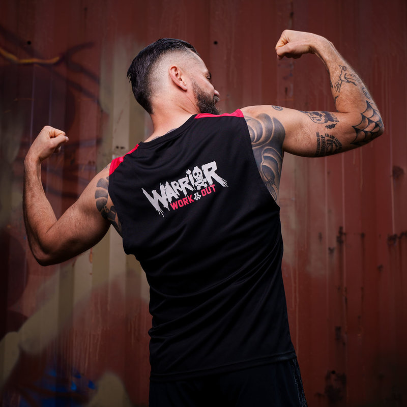 Defqon.1 Warrior Workout muscle tee tanktop